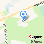Социальная на карте Шелехова