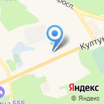 Каравай на карте Шелехова