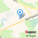 Автостоянка на карте Шелехова