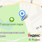 Барс на карте Шелехова