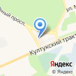 Атриум на карте Шелехова