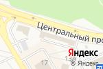 Схема проезда до компании Русский фейерверк в Шелехове