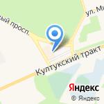 Автовокзал на карте Шелехова