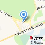 Кактус на карте Шелехова