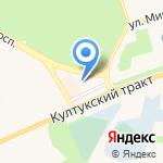 Магазин автозапчастей на карте Шелехова