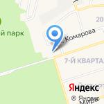 Магазин бытовой химии на карте Шелехова