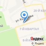 Шелеховский лицей на карте Шелехова