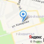 Чик на карте Шелехова