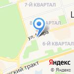 Адвокатский кабинет Лимаренко А.В. на карте Шелехова