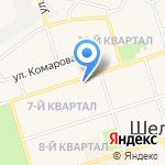 Парикмахерская на карте Шелехова