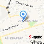 Магазин хлебобулочных изделий на карте Шелехова