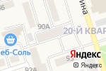 Схема проезда до компании Магазин игрушек в Шелехове