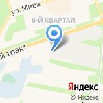 Трактовая на карте Шелехова