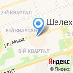 Твой на карте Шелехова