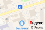 Схема проезда до компании Кокетка в Шелехове