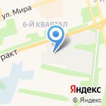 ВОК на карте Шелехова