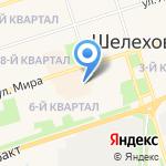 Авоська на карте Шелехова