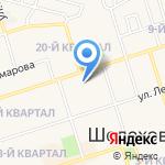 ПечатникЪ на карте Шелехова