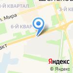 Магазин №1 на карте Шелехова
