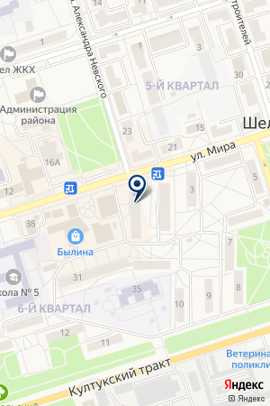 Алла на карте Шелехова