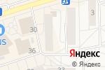 Схема проезда до компании Парадиз в Шелехове