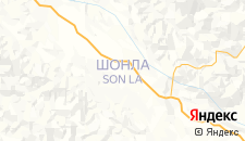 Отели города Шонла на карте