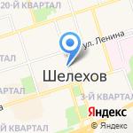 Тэнно на карте Шелехова