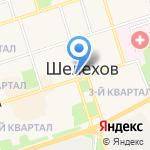 Веломастерская на карте Шелехова