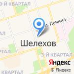Магазин овощей и фруктов на карте Шелехова