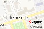 Схема проезда до компании ГЕОТЕХ в Шелехове