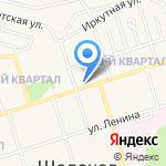 Отдел социальной поддержки на карте Шелехова