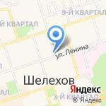 Центр гигиены и эпидемиологии в Иркутской области на карте Шелехова