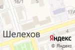 Схема проезда до компании Простое решение в Шелехове