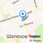 Отдел приема граждан г. Шелехова на карте Шелехова