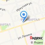 Центр занятости населения г. Шелехова на карте Шелехова