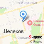 ЛЕЧЕБНО-ДИАГНОСТИЧЕСКИЙ ЦЕНТР на карте Шелехова