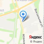 Ангара на карте Шелехова