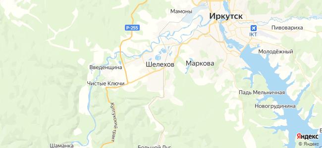 1 маршрутка в Шелехове