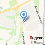 Красноярская продовольственная компания на карте Шелехова