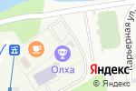 Схема проезда до компании Олха в Олхе