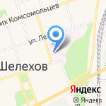 Детская поликлиника на карте Шелехова