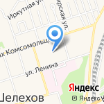 Межрайонная ИФНС России № 1 по Иркутской области на карте Шелехова