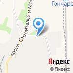 Восточно-Сибирский завод железобетонных конструкций на карте Шелехова