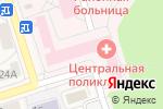 Схема проезда до компании Шелеховская центральная районная больница в Шелехове