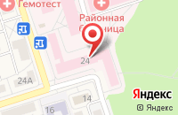 Схема проезда до компании Международный Институт Развития Восточной Сибири в Шелехове
