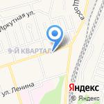 Корзинка на карте Шелехова