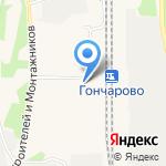 Очаг на карте Шелехова