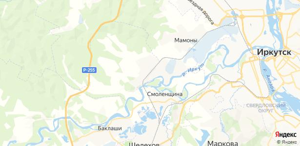 Максимовщина на карте
