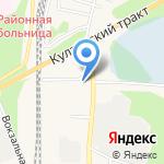 Зеленый на карте Шелехова
