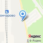 Байкал-Терминал на карте Шелехова